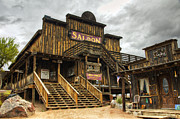 Gold Mining Photos - Goldfield Ghost Town - Mammoth Saloon   by Saija  Lehtonen