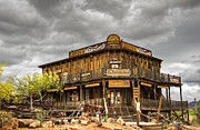 Peterson Prints - Goldfield Ghost Town - Petersons Mercantile  Print by Saija  Lehtonen
