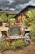 Gold Mining Photos - Goldfield Ghost Town - Precious Metal  by Saija  Lehtonen