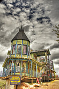 Bordello Art - Goldfield Ghost Town - The Bordello  by Saija  Lehtonen