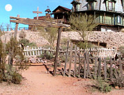 Ghost Town Digital Art - Goldfield Ghost Town by Cristopher