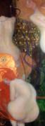 Goldfish Print by Gustav Klimt