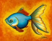 Goldfish Print by Sabina Espinet