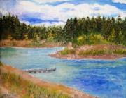 Prescott Paintings - Goldwater Lake by Jamie Frier
