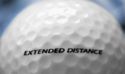 Pasttime Prints - Golf Ball 1 - Extended Distance Print by Steve Ohlsen