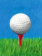 Janice Dunbar - Golf Ball and Tee