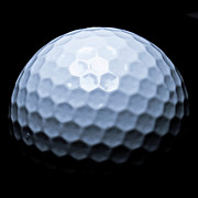 Golfer Prints Art - Golf Ball by JJ Gilmorte