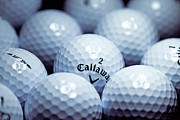 Golfer Prints Art - Golf Balls by JJ Gilmorte