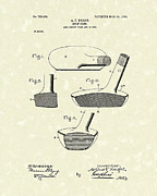 Golf Drawings Posters - Golf Club 1903 Patent Art Poster by Prior Art Design