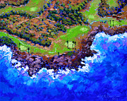 Golf Originals - Golf Course in Paradise by John Lautermilch