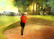 Sports Mixed Media - Golf in Scotland Saint Andrews 01 by Miki De Goodaboom