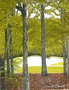 Linda Bennett Art - Golf  by Linda Bennett