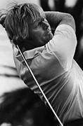 Pro Sports Framed Prints - Golf Pro Jack Nicklaus, 1973 Framed Print by Everett