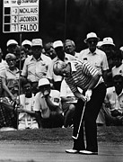 Bh History Metal Prints - Golf Pro Jack Nicklaus, August, 1984 Metal Print by Everett