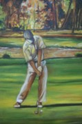 Emery Franklin Metal Prints - Golf Tips Metal Print by Emery Franklin