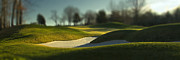 Golf Topography I Print by Bob Retnauer