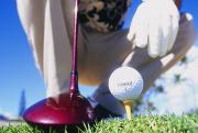 Glove Ball Photos - Golfer Sets Up His Shot by Sri Maiava Rusden - Printscapes