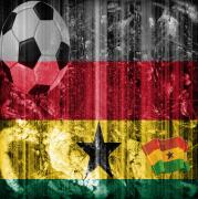 Football Mixed Media - GOLLLL - Ghana by Fania Simon
