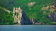 Serbian Framed Prints - Golubac fortress Framed Print by Gabriela Insuratelu