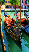 Photography Art Prints - Gondola Print by Photography Art