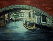 Rhonda Clapprood - Gondola in Venice