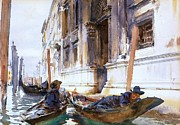 Gondoliers  Siesta Print by Pg Reproductions
