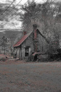Barn Digital Art Metal Prints - Gone by Era Metal Print by Greg Sharpe