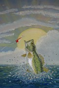 Scott Phillips Art - Gone Fishing by Scott Phillips
