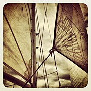 Transportation Art - Gone Sailing by Jody Robinson