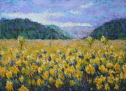 Oregon Pastels Prints - Gone to Seed Print by Nancy Jolley