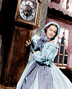 Incol Acrylic Prints - Gone With The Wind, Olivia De Acrylic Print by Everett