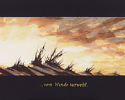 Lances Prints - Gone With The Wind - Vom Winde Verweht Print by Florian Divi