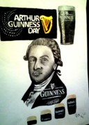 Pauline Murphy Prints - Good day for a Guinness Print by Pauline Murphy