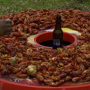 Crawfish Art - Good Eating Anytime by Anthony Walker Sr