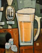 Bistro Paintings - Good for What Ales You by Tim Nyberg
