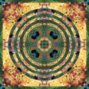 Sacred Geometry Photos - Good Fortune by Bell And Todd