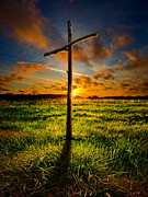 Jesus Framed Prints - Good Friday Framed Print by Phil Koch