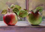 Food And Beverage Pastels - Good Friends by Jeanne Rosier Smith