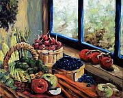 Pranke Paintings - Good Harvest by Richard T Pranke