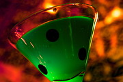 Kitchen Art Photographs Prints - Good luck drink Print by Toni Hopper