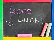 Good Luck Photo Framed Prints - Good luck Framed Print by Tom Gowanlock