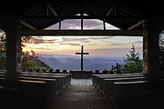 Religious Prints Photos - Good Morning at Pretty Place by Rob Travis