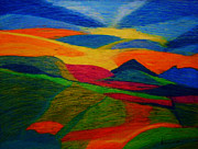 Organic Pastels Originals - Good Morning by Dorneisha Batson