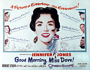 1955 Movies Art - Good Morning, Miss Dove, Jennifer by Everett
