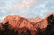 Mount Whitney Prints - Good Morning Mount Whitney Print by Catherine Lau