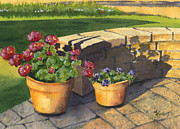 Patio Prints - Good Morning Sunshine Print by Marsha Elliott