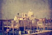 Santa Maria Della Salute Prints - Good Morning Venice Print by Lois Bryan