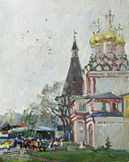 Russia Paintings - Good sign by Juliya Zhukova