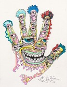 Hallucinations Prints - Good Time Print by Robert Wolverton Jr