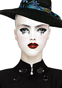 Make-up Mixed Media Prints - Good to Cry Print by Yosi Cupano